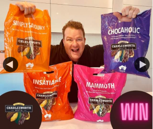South Aussie With Cosi – Win Charlesworth Nuts Showbags?