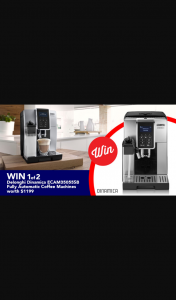 Stack magazine – Win 1 of 2 Delonghi Dinamica Ecam Fully Automatic Coffee Machines