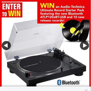 Stack magazine – Win The Ultimate Audio-Technica Record Starter Pack and 10 New Release Records