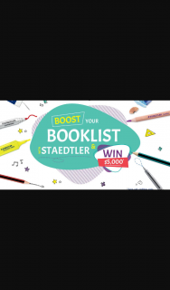 Staedlter – Win $5000 for Your School (prize valued at $1,000)