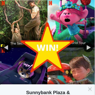 Sunnybank Plaza & Sunny Park – Win a Hoyts Cinema Sunnybank Family Pass