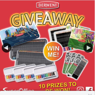 SuperOffice – Win 1 0f 10 Derwent Prizes (prize valued at $350)