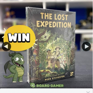 The Board Gamer – Win a Copy of The Lost Expedition