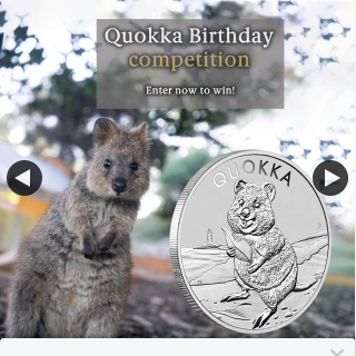 The Perth Mint – Win 1/2 Prize Packs Including Family Pass Return Trip to Rottnest & 2 Quokka 2020 1oz Silver Bullion Coins