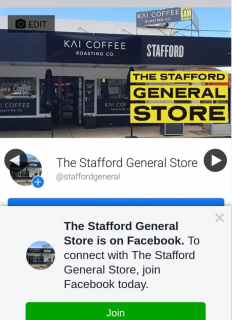 The Stafford General Store – Win Two Free Coffees