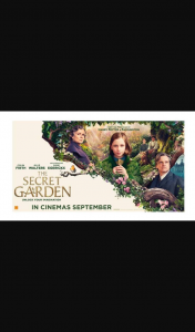 The Weekend West – Win 1 In 25 Double Passes to The Secret Garden