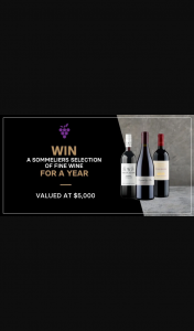 The Wine Collective – Win Something Equally Big (prize valued at $5,000)