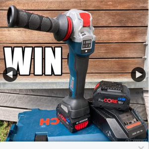 Total Tools – Win a Bosch X-Lock Grinder Kit