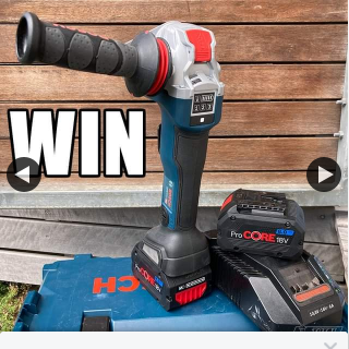 Total Tools – Win a Bosch X-Lock Grinder Kit