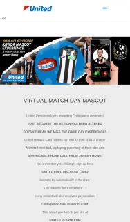 United Petroleum – Win a Collingwood Prixe and Phone Call From Jeremy Howe for Your Child