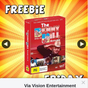 Via Vision Entertainment – Win a Copy of The Benny Hill Annuals 1970-1979 DVD