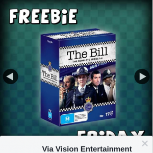 Via Vision Entertainment – Win The Bill The Complete Series 1-4 DVDs