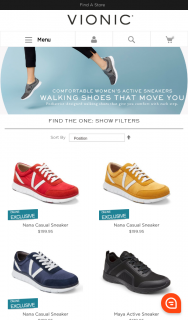 Vionic Shoes – Win an Ella Baché Voucher Worth $150 (prize valued at $150)