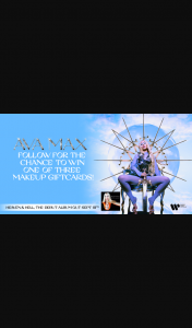 Warner Music – Win One of Three Makeup Gift Cards Worth $500 Each to Keep Ava's Australian Kings & Queens Strong on That Face Game (prize valued at $1,500)