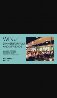 Warradale Hotel [Adelaide] – Win Dinner for You and 3 Friends [closes In 78 Minutes] (prize valued at $500)