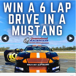 Weekender – Win a Six Lap Race Experience at Qld Raceways Ipswich