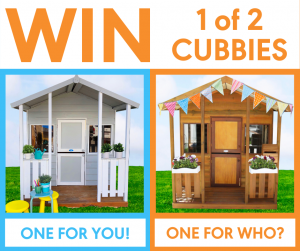 Aarons Outdoor – Win 1 of 2 cubbies for you and your bestie