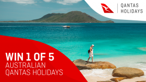 Channel Seven – Sunrise 'Qantas Holidays' – Win 1 of 5 holidays