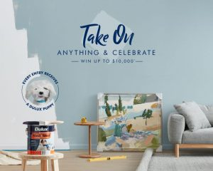 Dulux – Win 1 of 5 grand prizes of $10,000 cash each OR 1 of 50 minor prizes