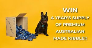 Fetched – Win a Year's supply of Australian made dog kibble