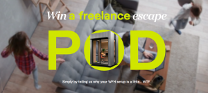 Fiverr – Win a Freelancer Escape Pod valued at $25,000