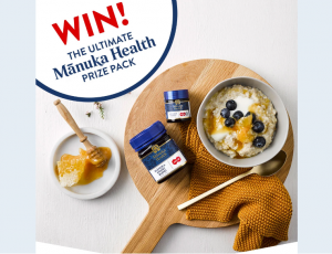 Manuka Health – Win 1 of 4 prize packs
