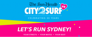Nova 96.9 – Fitzy & Wippa's Last Man Standing – Win 1 of 5 daily prize packs of 2 City2Surf tickets; 2 pairs of running shoes and 2 Garmin running watches