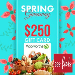 SBS Foods – Win 1 of 2 Woolworths gift cards valued at $250 each