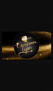 Australian Radio Network 4KQ 2020 Christmas Lights – Win $1000 and a Runner Up Will Receive $500.