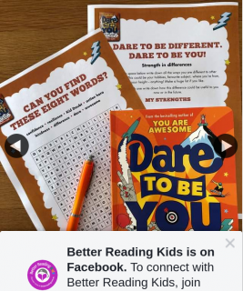 Better Reading Kids – Win One of Five Copies of Dare to Be You