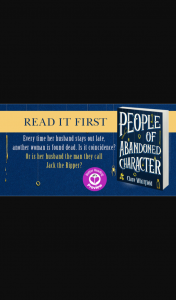 Better Reading – Win One of Forty Preview Copies of People of Abandoned Character