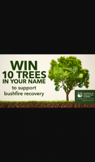 Channel 7 – Sunrise Family – 'win 10 Trees In Your Name' Tile In (prize valued at $300)
