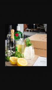 Cocktail Porter – Win a Free Gift Plus Instantly Go Into The Draw to Win Six Months of Free Cocktails (prize valued at $419.7)
