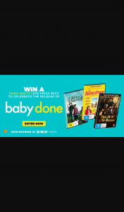 Dendy Cinemas – Win a Baby D Pack