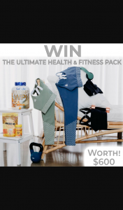 DUKE The Label – Win a $600 Health & Fitness Bundle 🌿 (prize valued at $600)