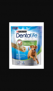 Female – Win One of 3 X a Month Supply of Dentalife for Your Dog Including 10 Packets Valued at $119 Each (prize valued at $119)