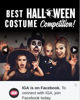 IGA Australia – Win One of Five Halloween Scarepacks