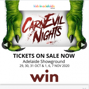 Kids in Adelaide – Win One of 10 X Family 'brave Rider' Passes to Adelaide's Biggest & Newest Halloween Event (prize valued at $1,560)