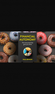 Money magazine – Win One of 10 Copies of Financial Autonomy