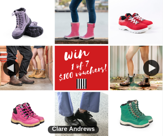 She wear Australia – Win 1 of 7 $100 Vouchers (prize valued at $700)