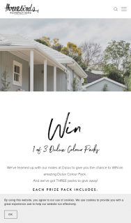 Three Birds Renovations – Win an Amazing Dulux Colour Pack