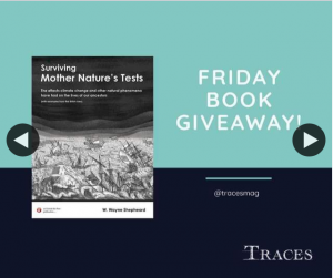 Traces magazine – Win a Copy of Surviving Mother Nature's Tests