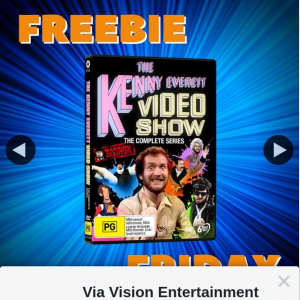 Via Vision Entertainment – Win a Copy of Kenny Everett Video Show The Complete Series on DVD