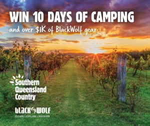 BlackWolf – Win a 10-day camping PLUS BlackWolf camping gear