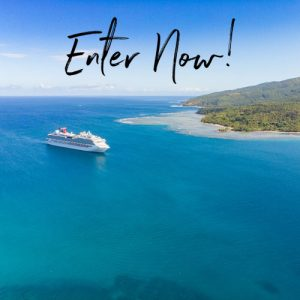 Carnival Cruise Line – Win 1 of 4 cruises for 2 departing from Brisbane and Sydney