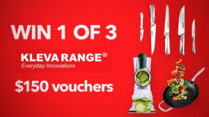 Channel 7 – Sunrise – Kleva Range – Win 1 of 3 vouchers