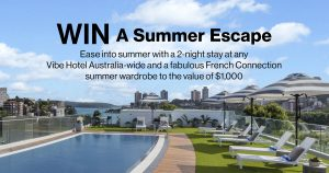 French Connection – Win a 2-night stay PLUS a summer wardrobe valued at $1,000