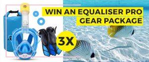 Ninja Shark – Win 1 of 3 Equaliser Pro gear prize packages