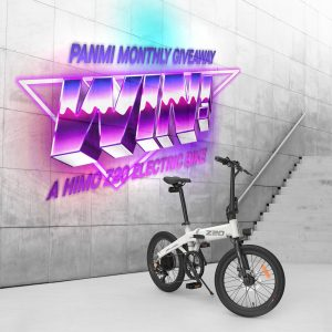 Panmi – Win a Himo Z20 Electric Bike valued at $1,499