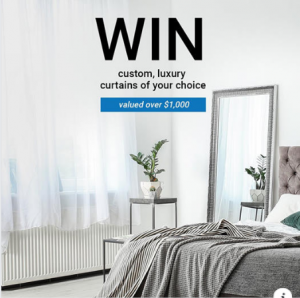 Slender Morris Furnishings – Win curtains of your choice
